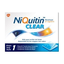 NIQUITIN CLEAR 21 MG PATCH