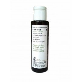 Korres Shampoing Aloes & Dictame Travel 40 ml