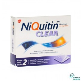 Niquitin clear 21 patch 14 mg