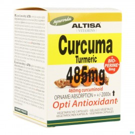 Altisa Curcuma Extr. 485mg + Piperine V-caps 50