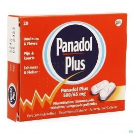PANADOL PLUS 20 COMP 500...