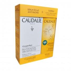 Caudalie Coffret Vinoperfect Serum + crème Solaire 2 Produits