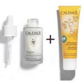 Caudalie Set Vinoperfect Serum + zon Creme 2 Prod.