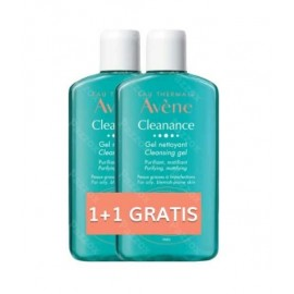 Avene Cleanance Reinigingsgel 200ml Promo Duo 1+1