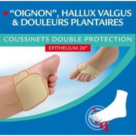 EPITACT™ Coussinets double protection, vendu par paire