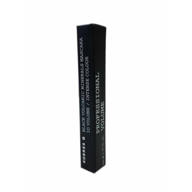 Korres Km Blac Mineral Mascara 01 Black Volume 8ml