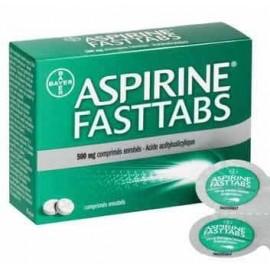 Aspirine Fasttabs 500mgFilmomh Tabl 40