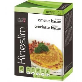 kineslim omelettes saveur bacon 4 sach