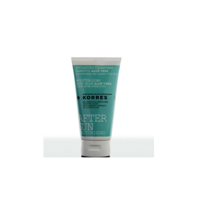 KORRES-Aloe Vera moisturising body milk after sun 150ml