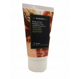 Korres creme mains bergamote poire 75ml