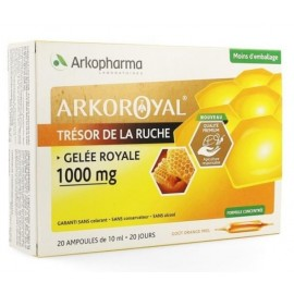 Arkoroyal Gelee Royale 1000mg Amp 20X15ml nf