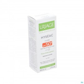 Uriage Hyseac Fluide Sol Ip50 P Mixte-pg Tube 50ml