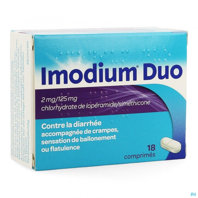 Imodium Duo Tabl 18