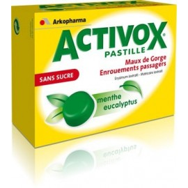 Activox Menthe-Eucalyptus Ss Past 24 nf
