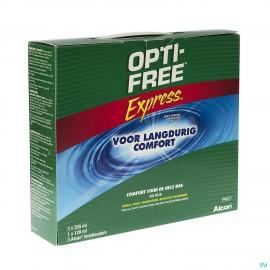 Opti-free Express Mp Disinf.3x355ml+1x120+3 Etuis
