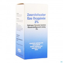 Eau Oxygene 3% Qualiphar 125ml