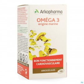 Arkogelules Omega 3 Origine Marine 180