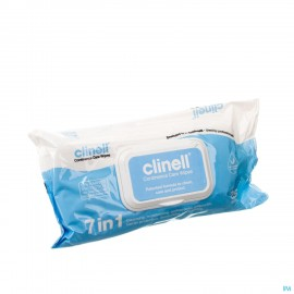 Clinell Continence Care Wipes 25 Pcs