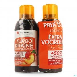 Turbodraine The Vert Peche Duo 2x500ml