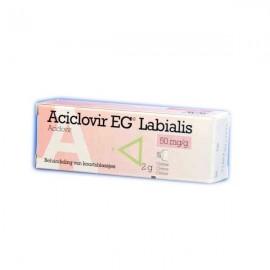 Aciclovir eg creme labialis 2g 50mg/ g