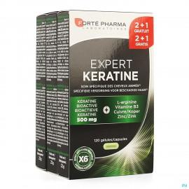 Expert Keratine Caps 120 2+1 Gratuit