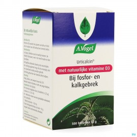 Vogel Urticalcin + Vit D Tabl 500