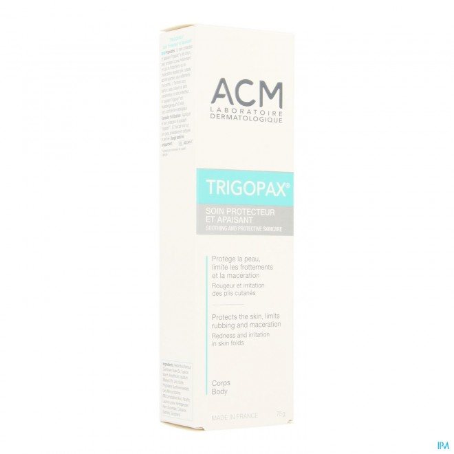 Trigopax Soin Protecteur Apaisant Creme Tube 75ml