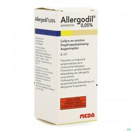 Allergodil 0,05% Pi Pharma Oogdruppels 6ml Pip