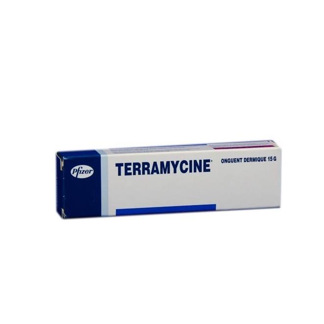 Terramycine+ polymyxine b 30/10000 15g pommade