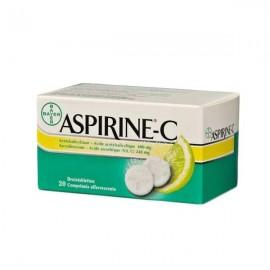 Aspirine-c 400 asa/240 vitc 20 compr efferv