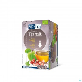 Biolys Pomme Rhubarbe Sene Sach 24