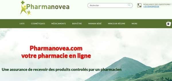 Nouveau design de notre site Pharmanovea